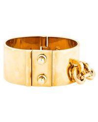 Louis Vuitton - Lock Me Manchette Bracelet Gold - Lyst