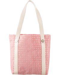 BVLGARI - Agatha Medium Shopping Tote Pink - Lyst