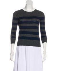 Rag & Bone - Three-quarter Sleeves Sweater Grey - Lyst