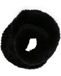 Pologeorgis - Mink Fur Infinity Scarf Mink - Lyst