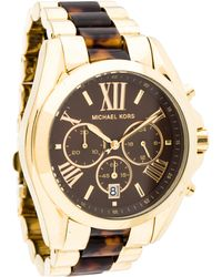 4dc40719c12b Lyst - Michael Kors Mk5605 Bradshaw Gold-tone Watch By For Women - 1 ...