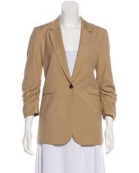Elizabeth and James - Structured Long Sleeve Blazer - Lyst