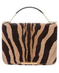 Emilio Pucci - Leather-trimmed Ponyhair Bag Tan - Lyst