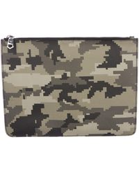 Givenchy - Digital Camo Print Pouch Green - Lyst