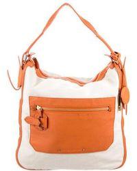 10 Crosby Derek Lam - Leather-trimmed Canvas Bag Natural - Lyst