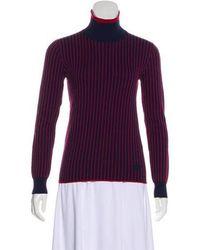 56f87f91dd6 Lyst - Louis Vuitton Sweater Multicolor L in Green