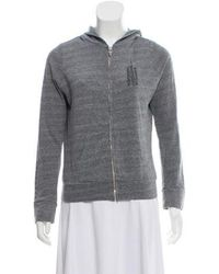 Chrome Hearts - Hooded Zip-up Jacket Grey - Lyst