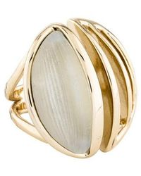 Alexis Bittar - Lucite Cocktail Ring Gold - Lyst