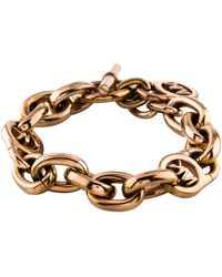 Michael Kors - Fulton Heritage Link Bracelet Rose - Lyst