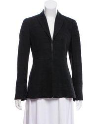Akris - Silk Structured Blazer - Lyst