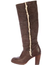 Kors by Michael Kors - Kors By Michael Suede Knee-high Boots - Lyst