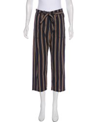 The Great - High-rise Straight-leg Pants - Lyst