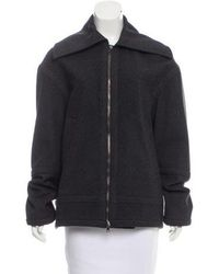 Reed Krakoff - Point Collar Short Coat Grey - Lyst