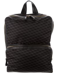 Pierre Hardy - Leather-trimmed Cube Backpack Black - Lyst