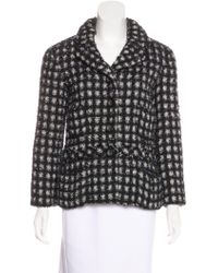 Marc Jacobs - Patterned Structured Jacket - Lyst
