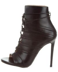 Ruthie Davis - Courtney Peep-toe Ankle Boots W/ Tags - Lyst