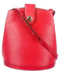 Louis Vuitton - Epi Cluny Bag - Lyst