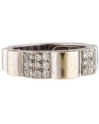 Chanel - 18k Diamond Profil De Camellia Ring White - Lyst