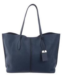 Tod's - Large Joy Tote Blue - Lyst