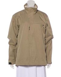 Tumi - Casual Stand Collar Jacket Beige - Lyst