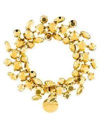 Tom Binns - Sequin Bracelet Gold - Lyst
