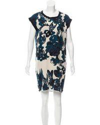 Day Birger et Mikkelsen - Silk Floral Print Dress W/ Tags Multicolor - Lyst