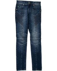 Balmain - Ribbed Skinny Jeans W/ Tags - Lyst