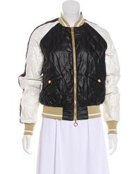 Lyst Moncler Suisse Puffer Jacket Black in Natural