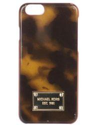 Michael Kors - Embellished Iphone 7 Case Tan - Lyst