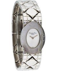 Dior - Lady Watch Silver - Lyst