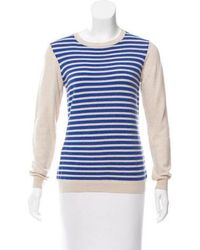 Gryphon - Striped Wool Sweater - Lyst