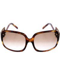Roger Vivier | Gradient Square Sunglasses Brown | Lyst