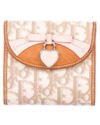 Dior - Diorissimo Compact Wallet Khaki - Lyst