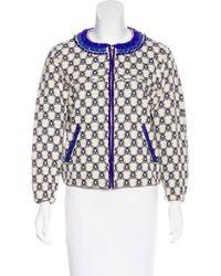 Isabel Marant - Embellished Zip-up Jacket - Lyst