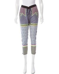 Clover Canyon - Mid-rise Printed Pants - Lyst