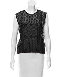 Maison Rabih Kayrouz - Sleeveless Knit Top W/ Tags - Lyst