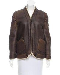Veronique Leroy - Reversible Shearling Jacket - Lyst