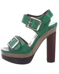 Chrissie Morris - Ida Multicolor Sandals W/ Tags Green - Lyst