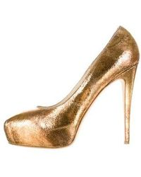 Brian Atwood - Pumps Bronze - Lyst