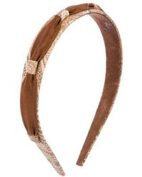 Etro - Ikat Print Woven Headband - Lyst