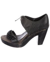 Rachel Comey - Leather Embellished Sandals - Lyst