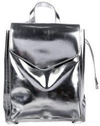Loeffler Randall - Leather Backpack - Lyst