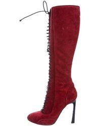Giambattista Valli - Lace-up Knee Boots - Lyst