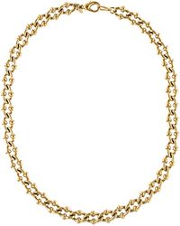 Givenchy - Fancy Link Chain Necklace Gold - Lyst