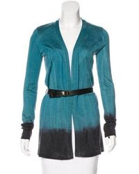 Piazza Sempione - Ombré Open Front Cardigan - Lyst