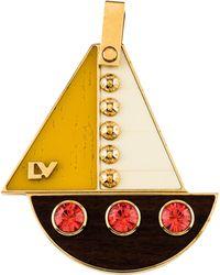 Louis Vuitton - Float Your Boat Pendant Gold - Lyst