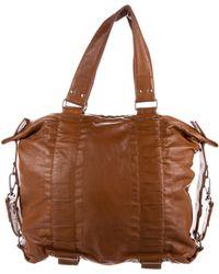 Dries Van Noten - Leather Handle Bag Tan - Lyst
