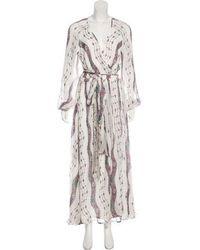 Marchesa Voyage - Printed Maxi Dress Multicolor - Lyst