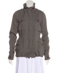 Rag & Bone - Lightweight Hooded Jacket Grey - Lyst