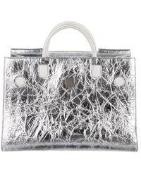Lyst - Dior Diorever Medium Bag Black in Metallic 428eb9a5c80ea